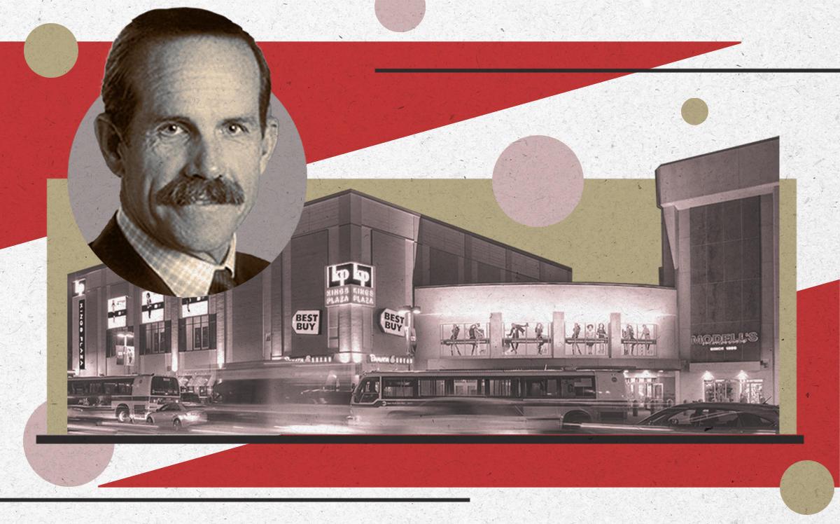 Macerich CEO Thomas E. O'Hern and the Kings Plaza mall