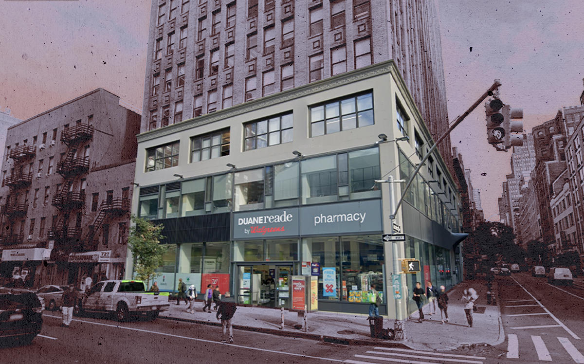 A Walgreens and Duane Reade location at 322 8th Ave (Google Maps)