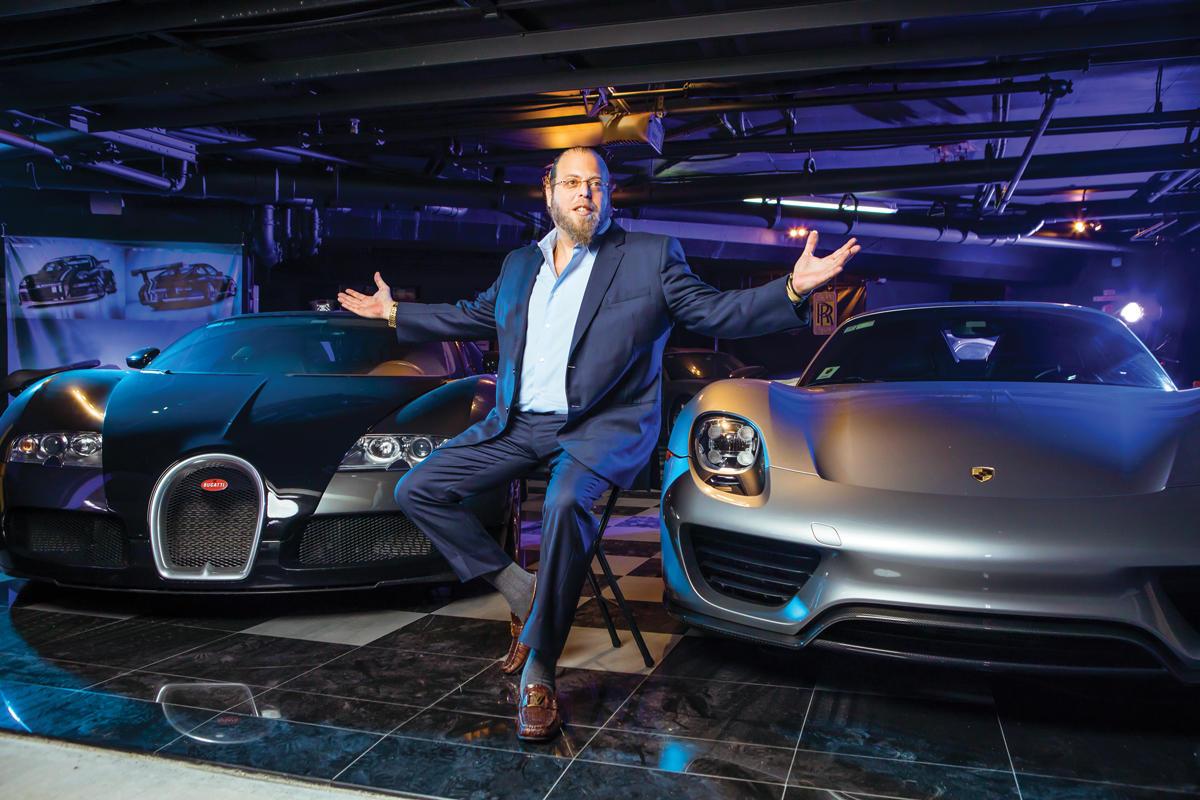 Gil Dezer, president of Dezer Development, with his supercars
