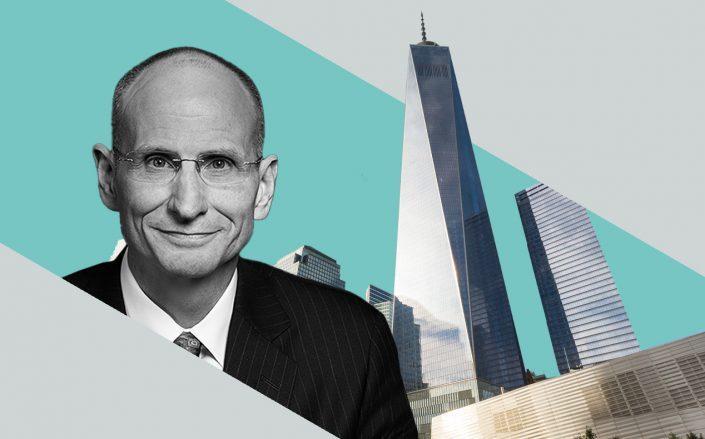 CBRE CEORobert Sulentic and One World Trade Center (CBRE, iStock)