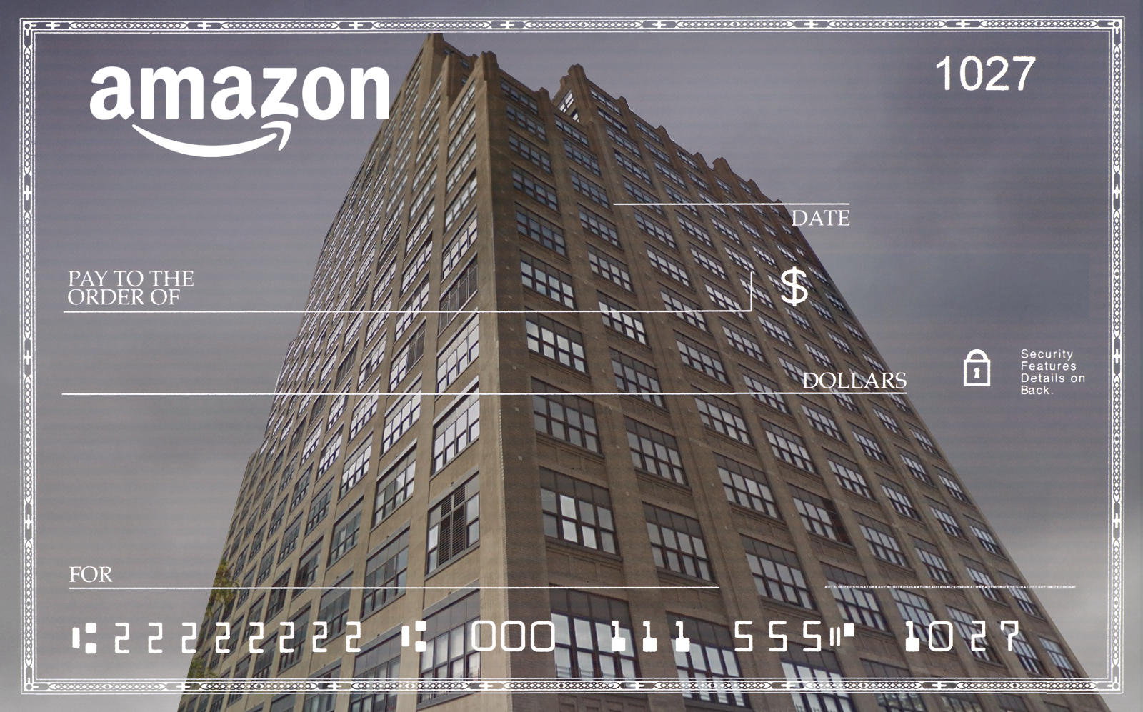 Amazon leases half of the building. (Google Maps, Getty)