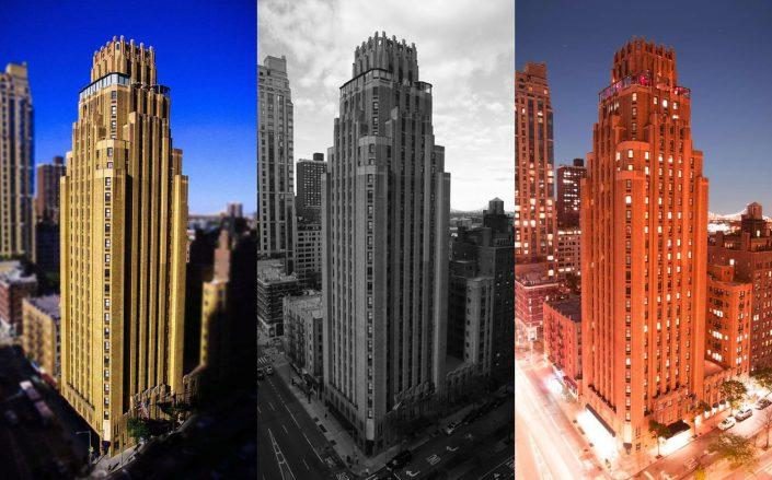 The luxury Beekman Tower in Midtown East is now worth nearly half its $146 million valuation from 2018. (Beekman Tower)