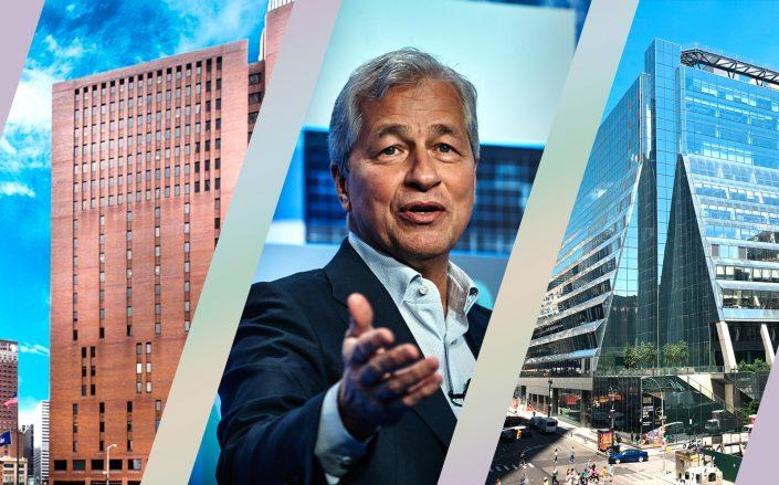 4 New York Plaza, JPMorgan CEO Jamie Dimon and 5 Manhattan West (Hines, Getty, Wikipedia Commons)
