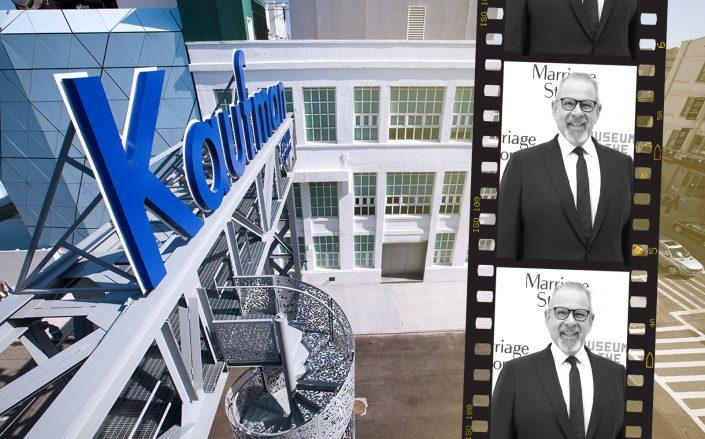 Kaufman Astoria Studios' CEO Hal Rosenbluth (Getty, Kaufman Astoria)