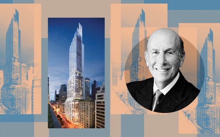 425 Park Avenue and L&L's David Levinson (Photos via 425 Park Ave, L&L)
