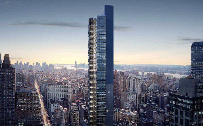A rendering of 3 West 29th Street (Rendering by BIG/HFZ)