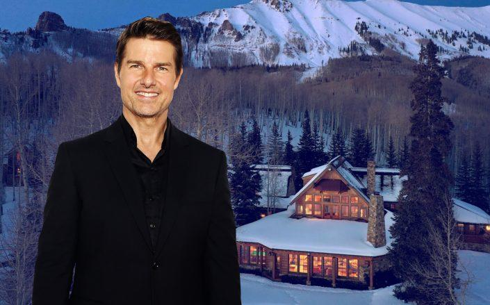 Tom Cruise and his four bedroom property. (Getty, LIV Sotheby's Realty)