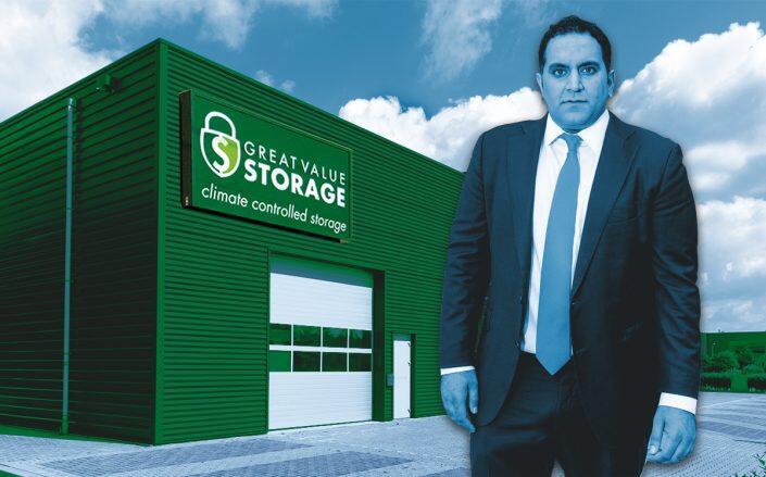 Nate Paul of World Class Holdings (Facebook/GreatValueStorage, iStock)