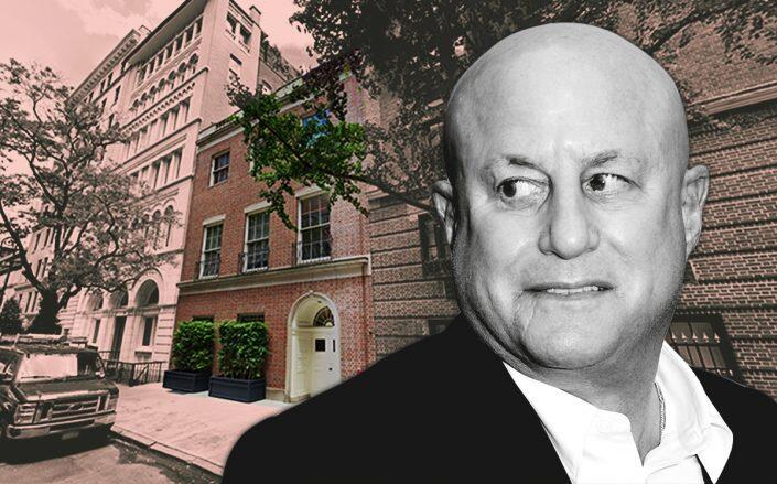 Ron Perelman and 39 East 62nd Street (Getty, Google Maps)