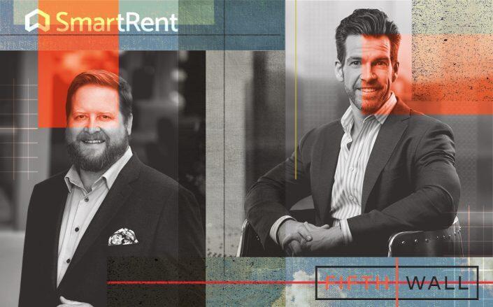 SmartRent's Lucas Haldeman and Fifth Wall's Brendan Wallace (iStock)