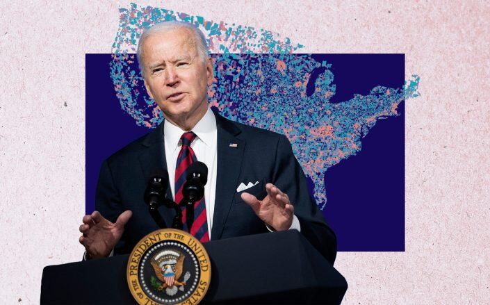 President Joe Biden (Getty, Education Next)