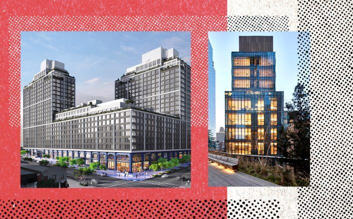 85 Jay Street in Dumbo and 515 West 29th Street in Chelsea (Photos via Winick, SCDA Architects)