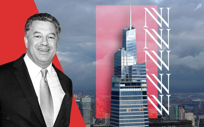 SL Green's Marc Holliday and One Vanderbilt (Getty)