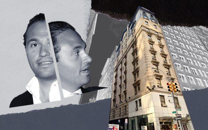 """Salim """"Solly"""" Assa and the Mave Hotel at 62 Madison Avenue (Getty, Google Maps)"""