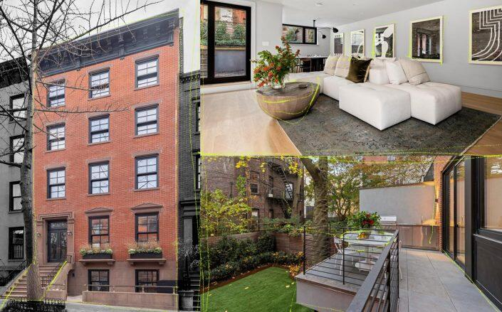 This Brooklyn Heights home went into contract at $2,184 per square foot. (Compass)