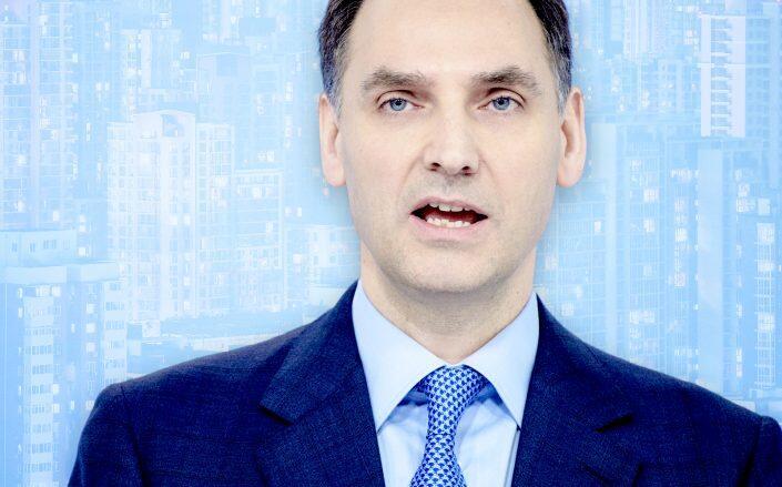 Deutsche Bank Chief Financial Officer James von Moltke (Getty)