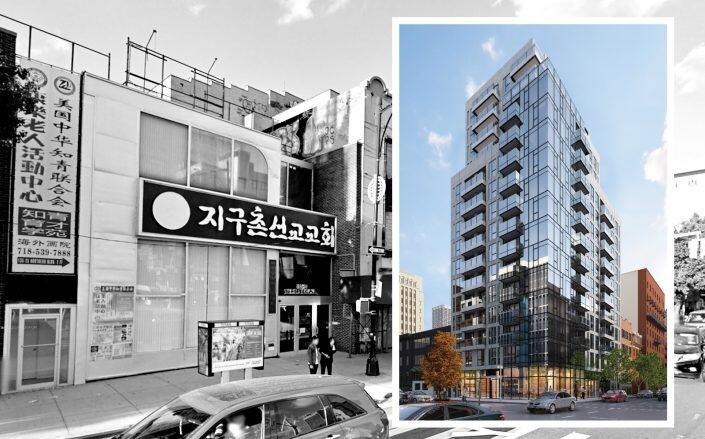 135-25 Northern Boulevard and 300 West 30th Street (Google Maps, Studio C Architects)