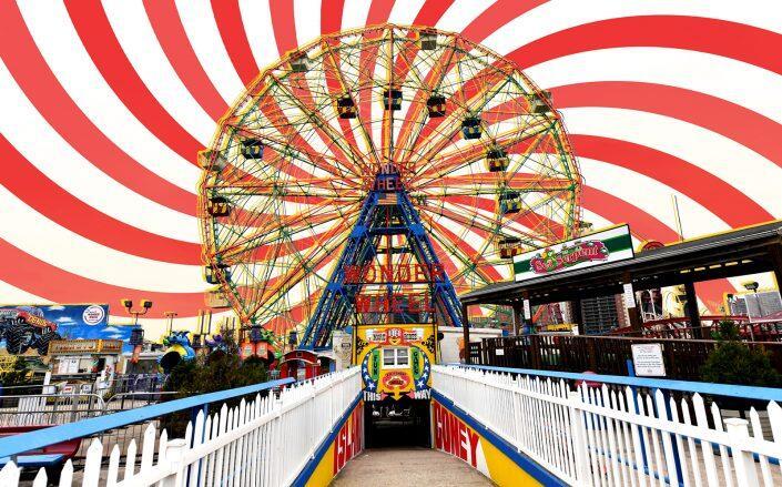 The Wonder Wheel in Coney Island (Getty)