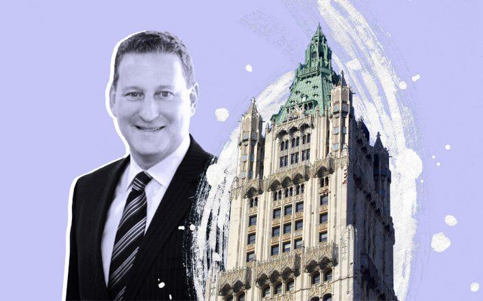 Alchemy Properties president Ken Horn and The Pinnacle at the Woolworth Building (Alchemy, iStock)