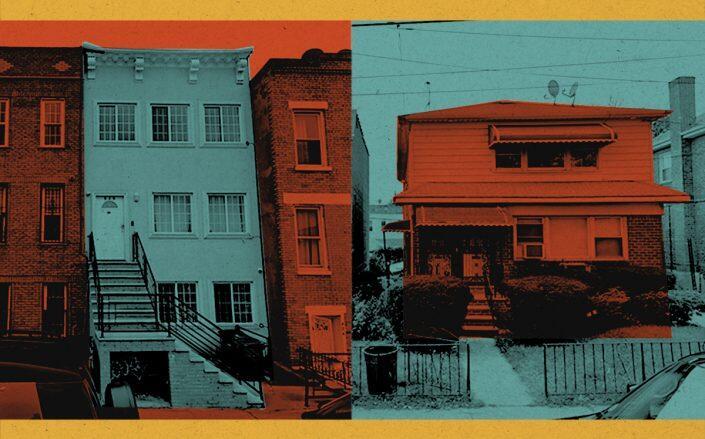 626 Lafayette Avenue in Bedford-Stuyvesant and 23-14 96th Street in East Elmhurst (Google Maps)