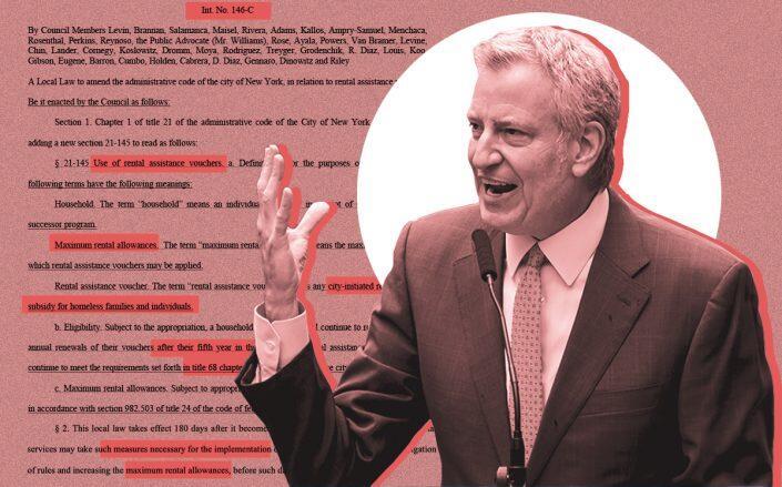 Mayor Bill de Blasio (Getty, NY City Council)