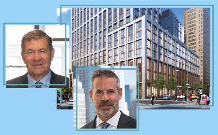 60 Norfolk Street with Gotham Organization Chairman Joel Picket and CEO David Picket (Gotham/Dattner Architects)