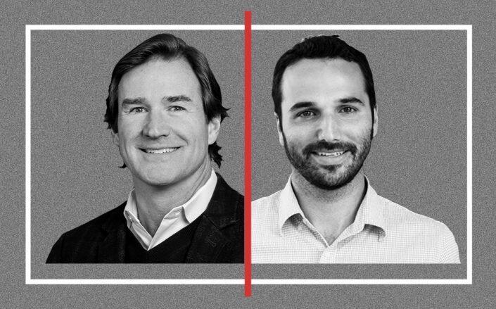 Breather CEO Bryan Murphy and Industrious CEO Jamie Hodari