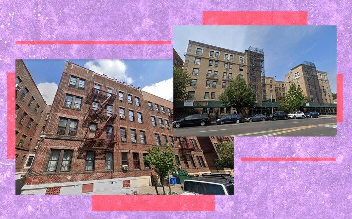 35-35 95th Street in Jackson Heights and 148-09 Northern Boulevard in Murray Hill(Google Maps)