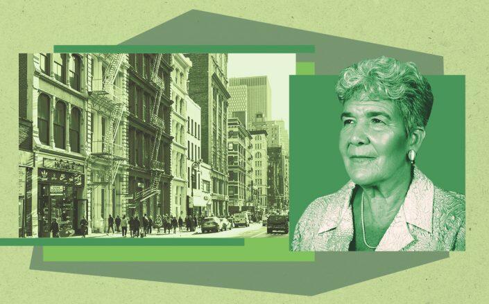 Soho and Marisa Lago (iStock, Dept. of City Planning)