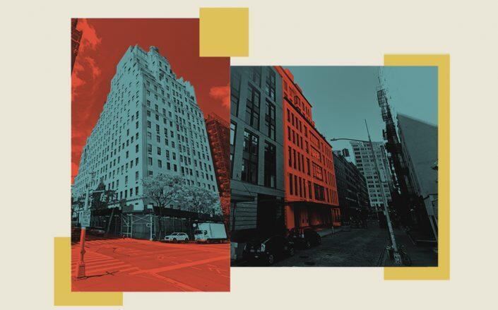 740 Park Avenue and 24 Leonard Street (Google Maps)