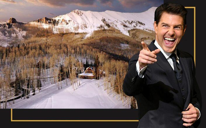Tom Cruise and his 320-acre estate (Getty, LIV Sotheby's Realty)
