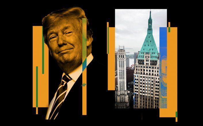 Donald Trump and 40 Wall Street (iStock, Sterlfilms/Wikimedia)