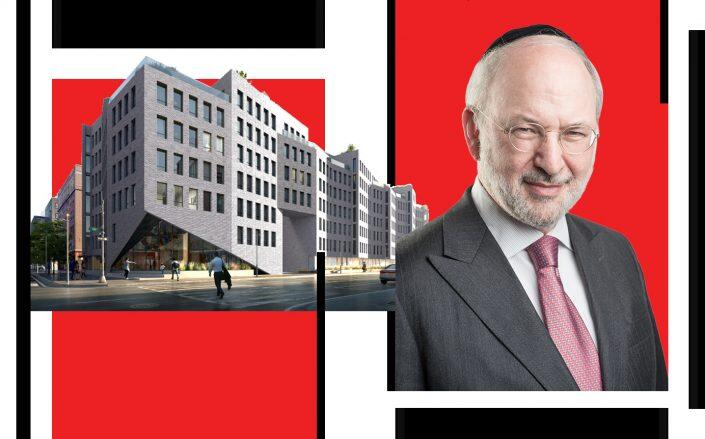 A rendering for 118 Hope Street and Clipper Equity's David Bistricer (Photos via Clipper Equity)