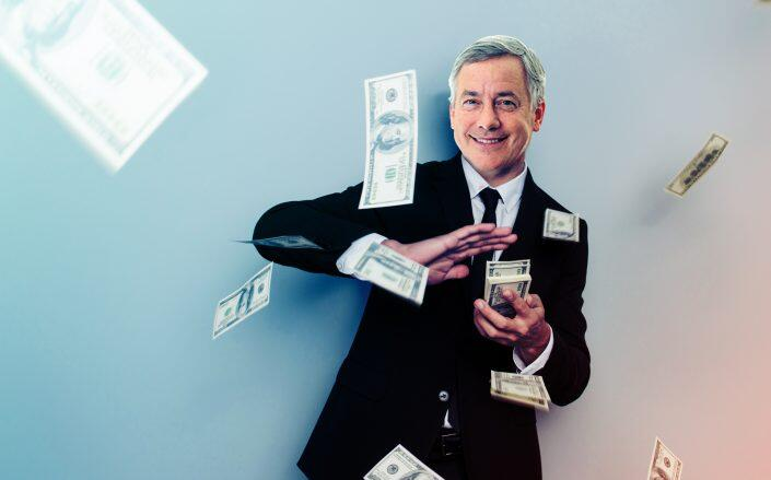 Photo illustration of CoStar CEO Andrew Florance (iStock, CoStar)