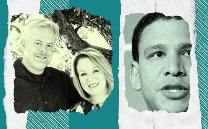 Lisa and Todd Sheppard with Compass CEO Robert Reffkin (Team Shep, Getty)