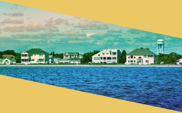 Cape Cod and the Jersey Shore suffered among the sharpest inventory declines. (iStock)