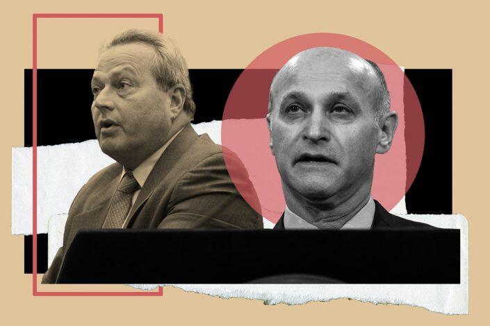RSA's Joseph Strasburg and Judge Lawrence Marks (Getty, Strasburg via Jeffersons Siegel)