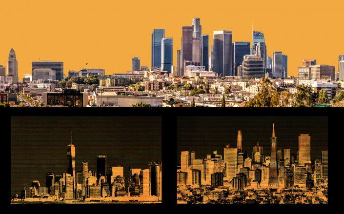 Commercial real estate investment was harder-hit in the New York metro and Bay Area than in Greater Los Angeles. (iStock)