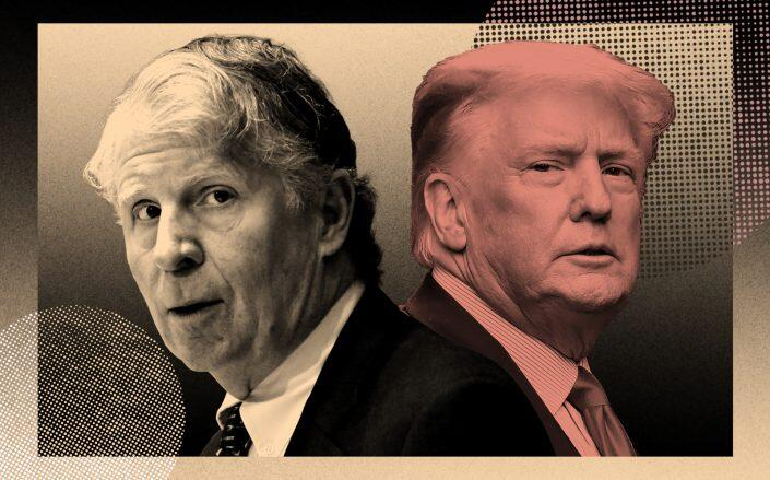 Manhattan District Attorney Cy Vance and Donald Trump (Getty)
