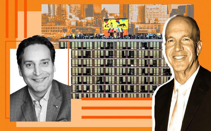 Abraham Merchant of Merchants Hospitality, 11-01 43rd Avenue and Frank Brosens of Taconic (Merchants Hospitality, Getty, Savanna Rooftop)