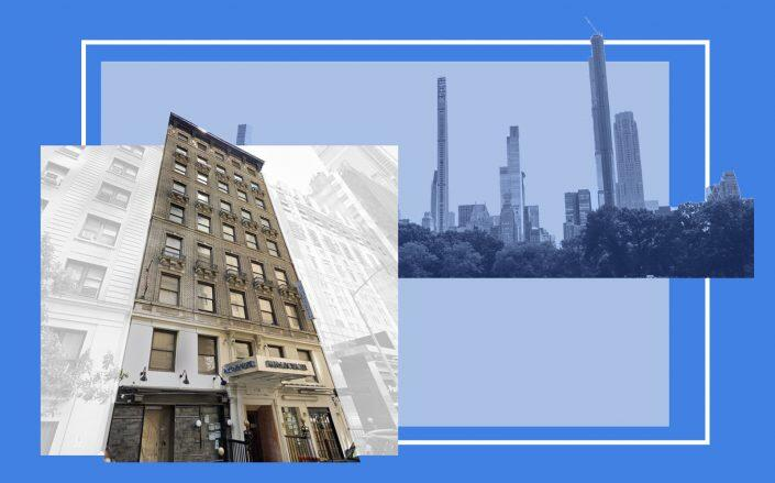 The Park Savoy Hotel at 158 W 58th Street (Google Maps)