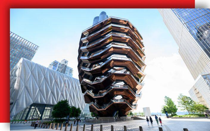 The Vessel at Hudson Yards (Getty)