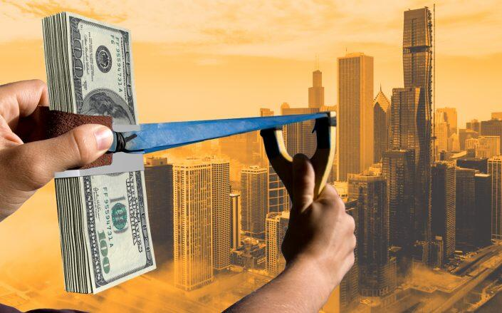 Private investment funds targeting real estate had about $356 billion in cash reserves in April (iStock)