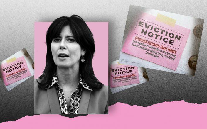 Queens Borough President candidate Elizabeth Crowley
