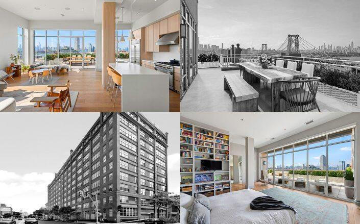 The Penthouse at 60 Broadway in Williamsburg. (Compass)