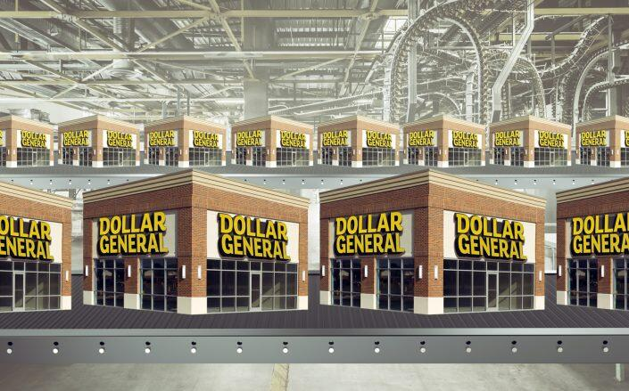 Nearly half of new shops in 2021 will be dollar stores. (Getty)