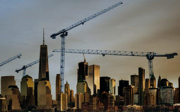 Total size of New York construction sites is smallest since 2010. (Getty)