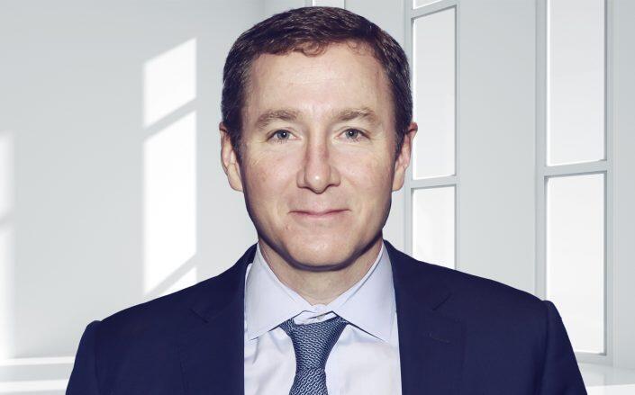 Peloton CEO John Foley. (Getty)
