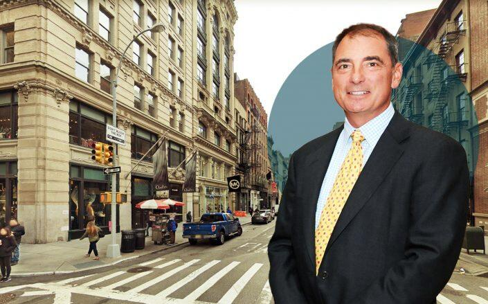 President & CEO of Northwood Investors with 520 and 524 Broadway. (Getty, Google Maps)