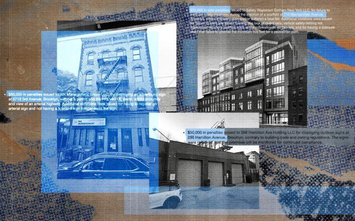 5718 3rd Avenue,710 Metropolitan Avenue and 286 Hamilton Avenue in Brooklyn (Google Maps, StreetEasy, DOB)